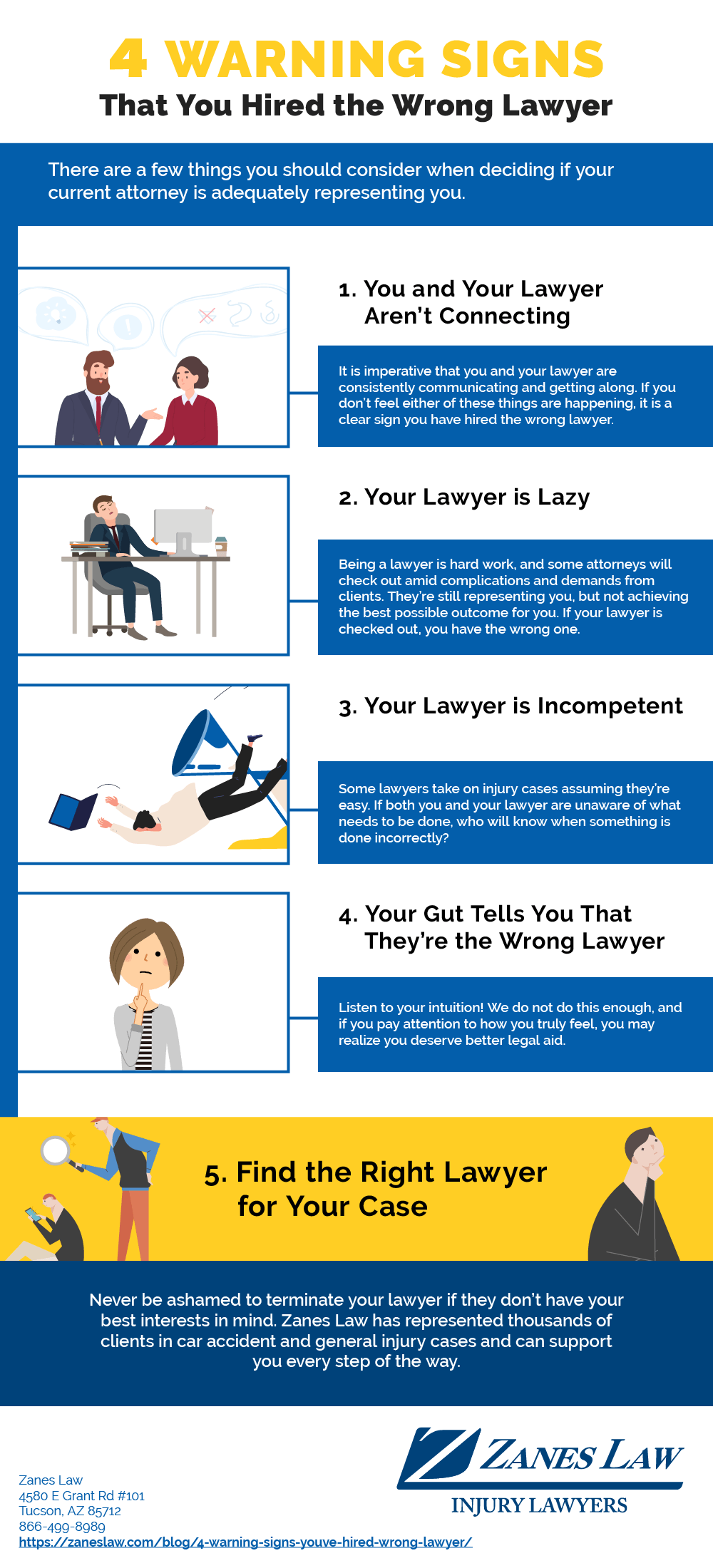 4 Warnings Signs That You've Hired the Wrong Lawyer
